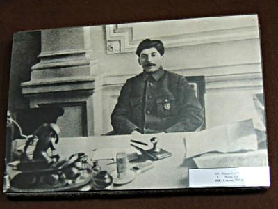Stalin at Politburo