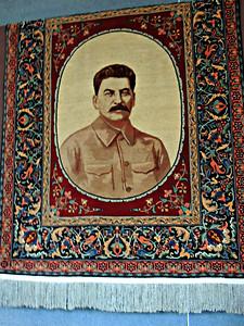 Carpet Portrait of Stalin
