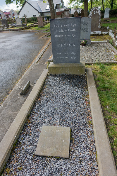 Yeats' grave, Drumcliff
