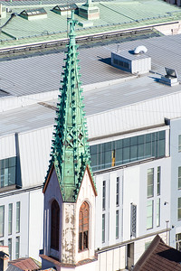 Spiky Steeple of St. John's Cathedral