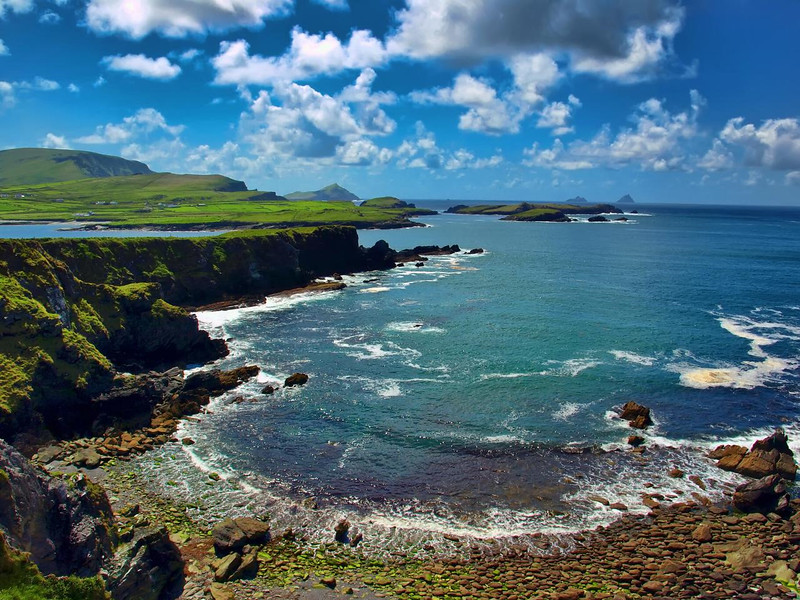 Ring of Kerry -  This is some of the scenery we might otherwise have seen along the Ring of Kerry. (Internet Photo)