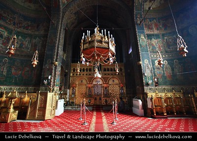 Europe - Romania - Constanța - Historically known as Tomis - The oldest extant city in Romania founded around 600 BC located in the Dobruja region, on the Black Sea coast - St. Peter & Paul Orthodox Cathedral - Catedrala Ortodoxa Sfinții Petru și Pavel Constanta