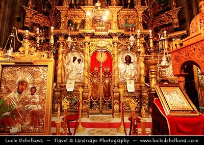 Europe - Romania - Bucharest - București - Capital City - Cultural, industrial & financial centre of Romania - Antim Monastery - Mănăstirea Antim -