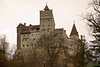 Bran Castle is a fortress on the border between Transylvania and Wallachia.