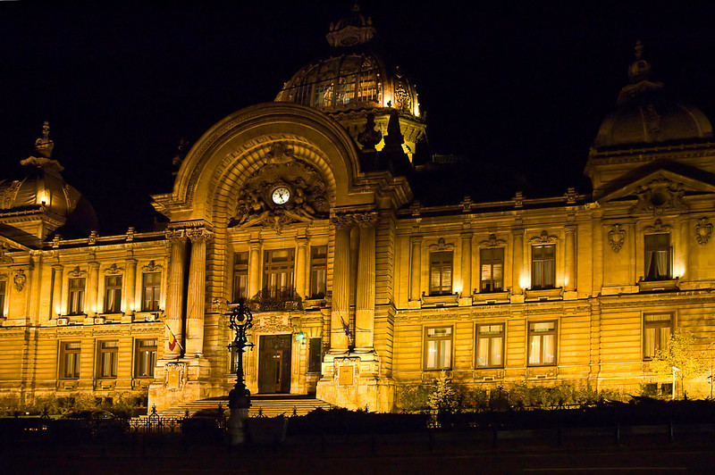 The CEC Palace (above) was completed in 1900 as headquarters of the national savings bank C.E.C. Currently the building is owned by the municipality and intended to host an art museum.