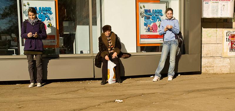Street scene, Bucharest