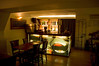 Bar and breakfast room at the Rembrandt Hotel