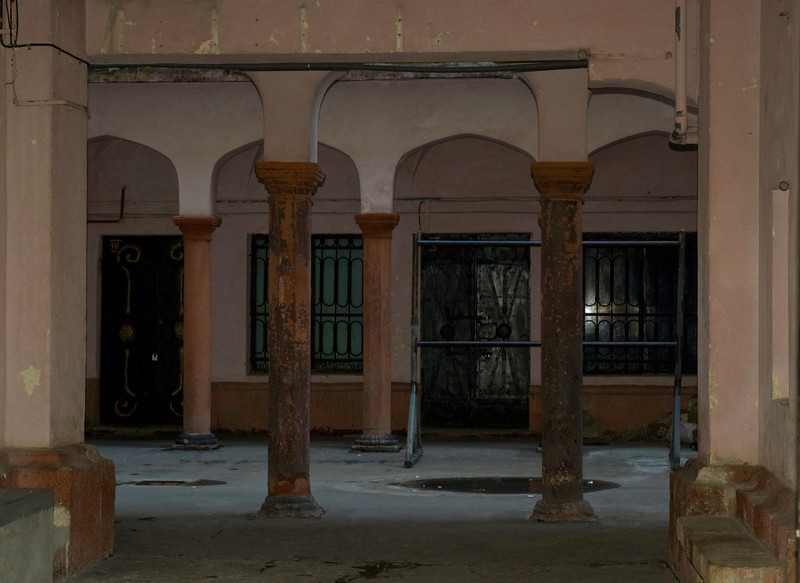 Courtyards and arcades are everywhere in the old center