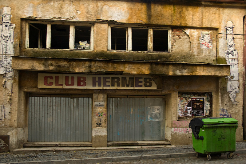 The former Club Hermes