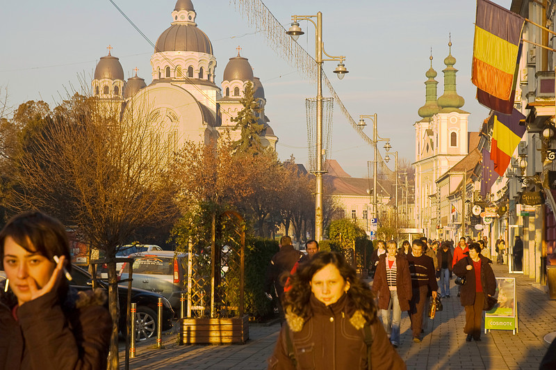 """Târgu Mureş is a Transylvanian town whose name translates as """"market,"""" first in Romanain and then in Hungarian reflecting the deep divide in the region's ethnic history."""