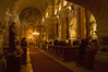 Hungarian (Roman Rite) Catholic Church Mass; note German (Fur die Kirche) on the offering box.