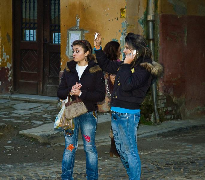 After school in Sighişoara