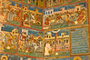 The martyrdom stories of various saints are shown here at Voronet.