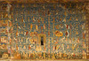 This panel at Voronet presents the descendancy of the house of David to the son of Joseph.