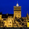Europe - Romania - Transylvania - Braşov - Bran Castle - Castelul Bran - Dracula's Castle - Most famous Gothic fortress perched on rock - National monument and landmark of Romania