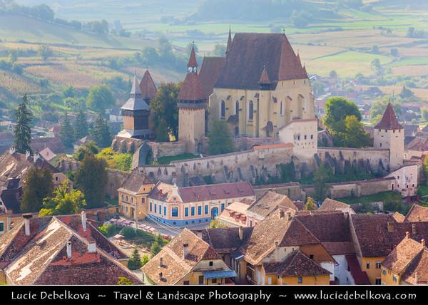 Europe - Romania - Transylvania region - Sibiu County - Biertan - Biertan fortified church - Biserica fortificată din Biertan - Kirchenburg von Birthälm - UNESCO World Heritage Site - Lutheran fortified church built by ethnic German Transylvanian Saxon community