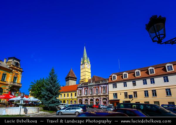 Europe - Romania - Transylvania region - Sibiu County - Mediaș - Mediasch - Medgyes - Second largest city in Sibiu County