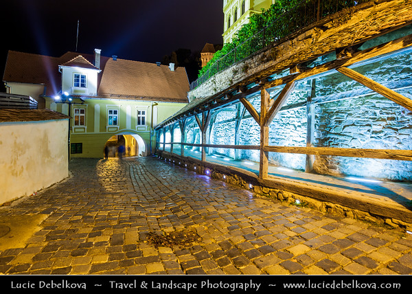 Europe - Romania - Transylvania - Mureș County - Sighișoara - UNESCO World Heritage Site - Historical city on Târnava Mare River founded by Transylvanian Saxons - One of the most beautiful and best-preserved medieval towns with fortified walls, cobblestones streets and lustrously coloured 16th-century houses - Birthplace of Vlad Dracula, also known as Vlad Tepes (Vlad the Impaler)