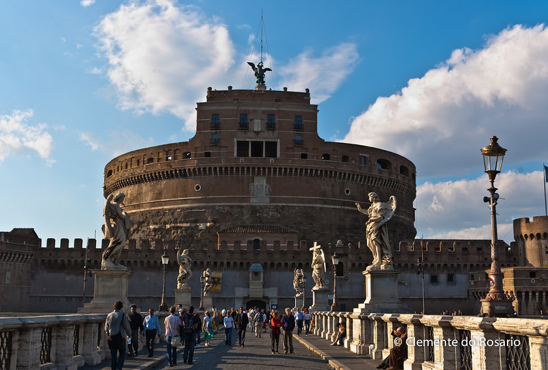 Castel Sant'Angelo in Parco Adriano, Rome, Italy