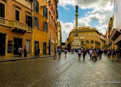 Piazza di Spagna, Rome , Italy