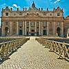 St. Peter's Basilica, Vatican City,Rome, Lazio, Italy