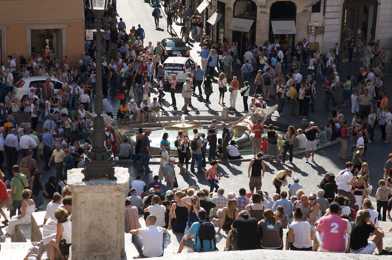 The Spanish Steps ( Piazza di Spagna )