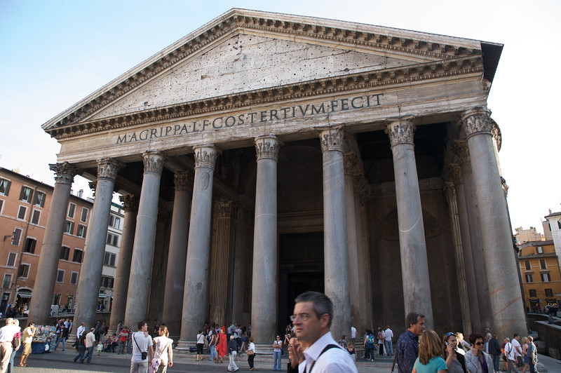 Impressive size of the Pantheon