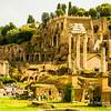 Roman Forum. Rome Italy