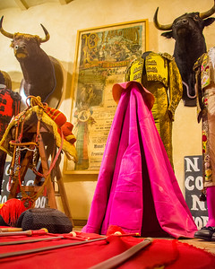 Bullfighting memorabilia