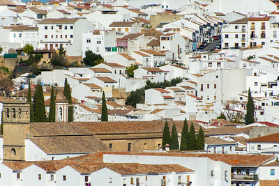 "One of Spain's ""white towns"""