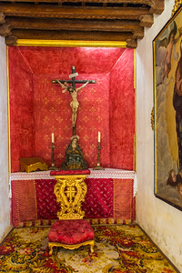 Small chapel for the bullfighters