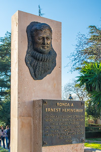 A plaque for Hemingway