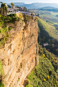 Sheer cliffs with spectacular views