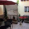otdoor patio across from our room