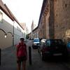 Robin at the city walls