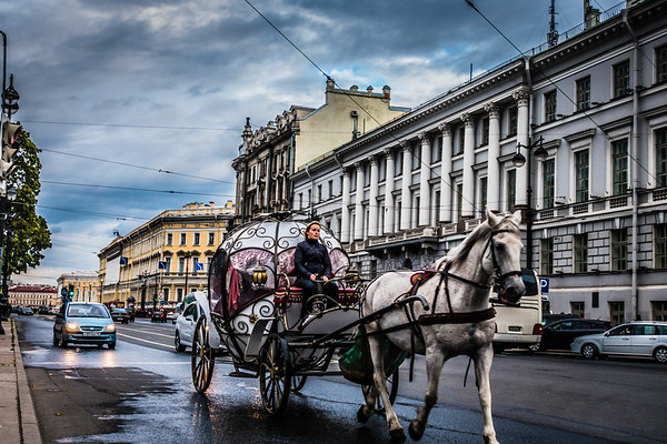 Russia - St. Petersburg and Moscow