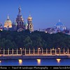 Europe - Russia - Россия - Rossiya - Saint Petersburg - Санкт-Петербург - Sankt-Peterburg - Petrograd - Петроград - Leningrad - Ленинград - Historical city on the Neva River at the head of the Gulf of Finland on the Baltic Sea - Venice of the North - UNESCO World Heritage Site - Church of the Savior on Spilled Blood - Церковь Спаса на Крови - Tserkovʹ Spasa na Krovi - is one of the main sights of St. Petersburg - Church on Spilt Blood - Церковь на Крови - Tserkov' na Krovi - Cathedral of the Resurrection of Christ - Собор Воскресения Христова - Sobor Voskreseniya Khristova