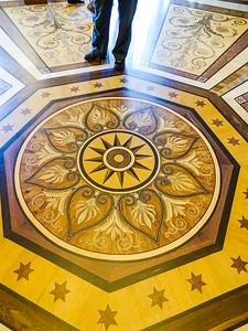 Even the floors were works of art