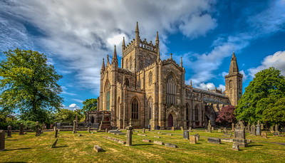 Dunfermline Abbey and Graveyard