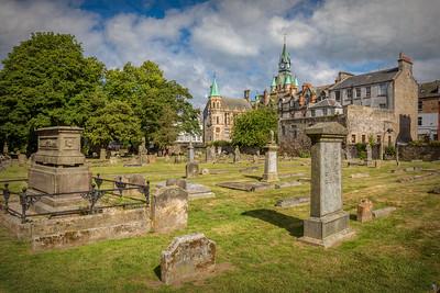 Graveyard and Clock Tower
