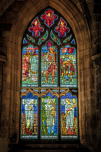 Stained Glass, St. Giles Cathedral