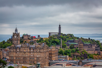 Calton Hill and Monuments