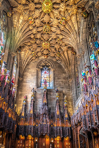 Thistle Chapel Elaborate Interior