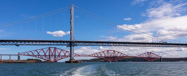 New Bridge and Railroad Bridge