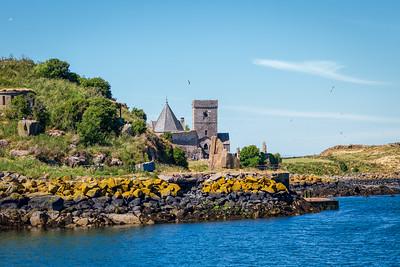 Inchcolm Island, Firth of Forth, Scotland, 2018