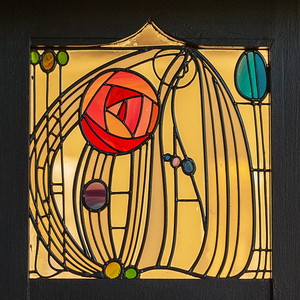 Stained Glass, House for an Art Lover