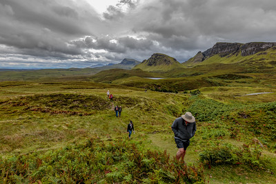 Hiking in the Quiraing