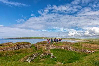 Skara Brae, Orkney Islands, Scotland, 2018