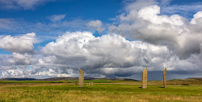 Clouds above Standing Stones