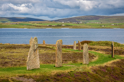 Standing Stones of Stenness, Orkney Islands, Scotland, 2018